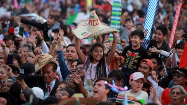 Foto:Mexicanos en festejos patrios
