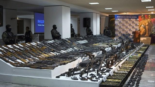 Foto México buscará congelar el tráfico ilícito de armas Ebrard