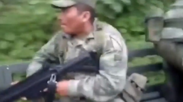 Foto: Emboscan a militares en Guerrero, 26 de septiembre de 2019, México