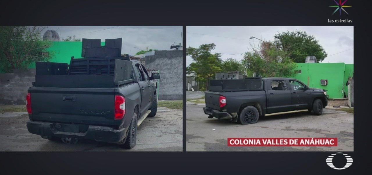 Foto: Modificaciones Camioneta Altera Investigaciones Ataque Extrajudicial 12 Septiembre 2019