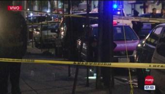 Muere hombre tras ser baleado en CDMX
