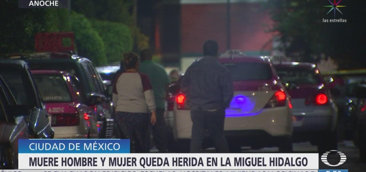 Muere hombre tras ser baleado en la Miguel Hidalgo, CDMX