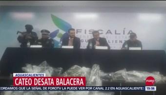 Foto: Balacera Aguascalientes Deja Muerto Dos Heridos 21 Septiembre 2019