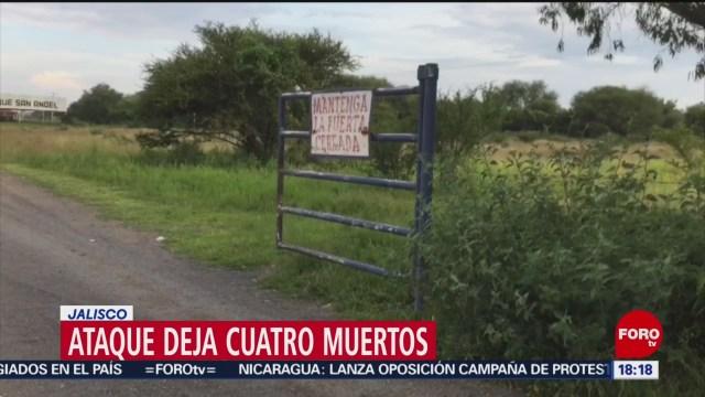 FOTO: Mueren cuatro por enfrentamiento en pista de carreras de caballos en Jalisco, 7 septiembre 2019