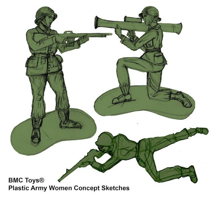 Foto Niña logra que empresa fabrique mujeres soldado de juguete 13 septiembre 2019