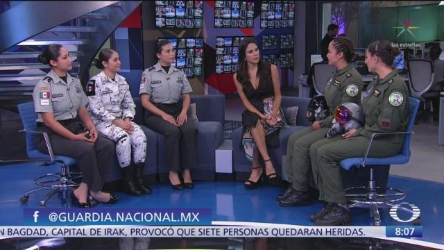 Mujeres en las Fuerzas Armadas de México