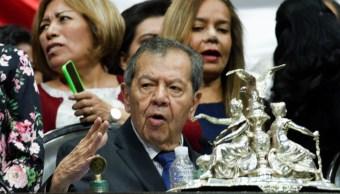 Porfirio Muñoz Ledo le mienta su madre a diputados
