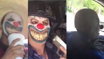 'Narcopayasos' del CJNG patrullan calles de Camargo, Tamaulipas