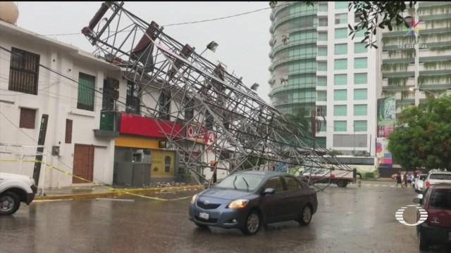 Foto: Narda Deja Inundaciones Paso Pacífico 30 Septiembre 2019