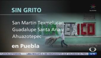 FOTO: No hubo fiesta del Grito de Independencia en 6 municipios de México, 16 septiembre 2019