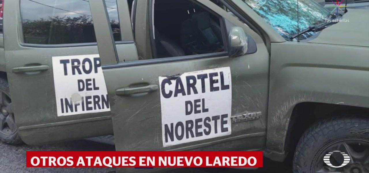 Foto: Nuevos Enfrentamientos Nuevo Laredo Tres Muertos 12 Septiembre 2019