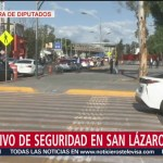 FOTO: Operativo de seguridad en los alrededores de San Lázarob, 1 septiembre 2019