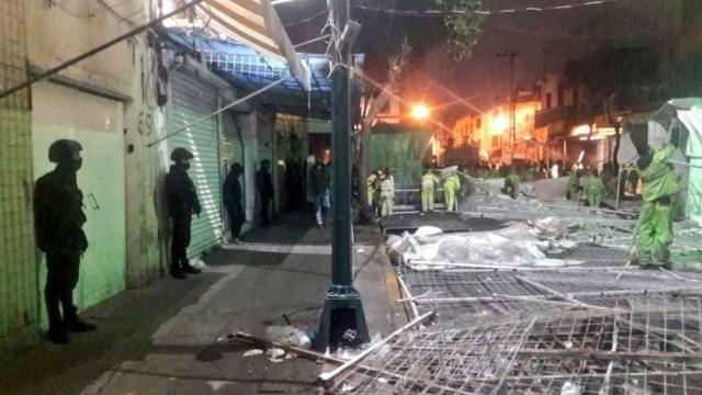 Realizan operativo de recuperación de espacios en colonia Centro, CDMX
