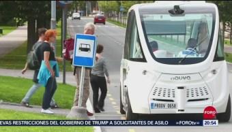 Foto: Países Europeos Usan Camiones Sin Conductor 11 Septiembre 2019