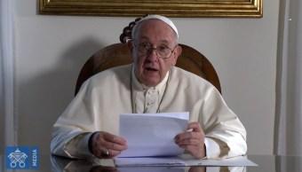Foto: El papa Francisco felicita al Club América, el 27 de septiembre de 2019 (Video Vaticano)