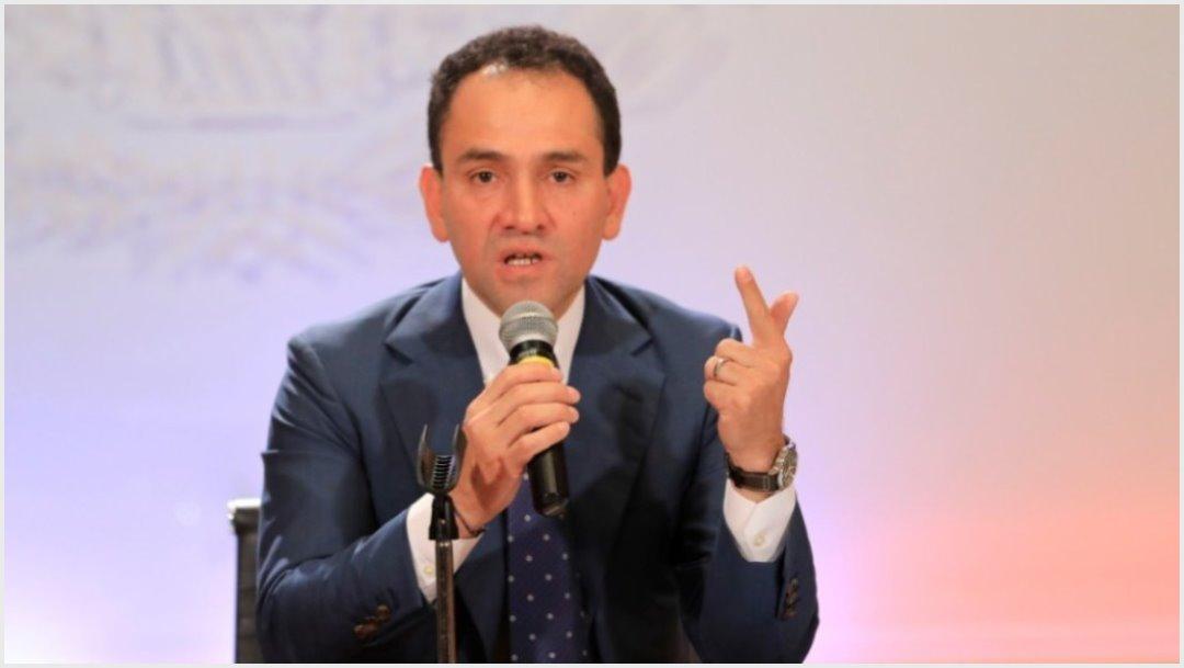 Imagen: Arturo Herrera dio a conocer las prioridades del Paquete Económico 2020, 8 de septiembre de 2019 (Reuters)