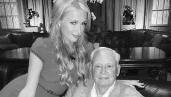 Paris Hilton y su abuelo William Barron