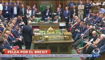Pelea en el Parlamento británico por el Brexit