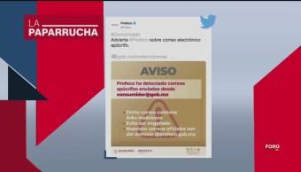 Foto: Profeco Alerta Sobre Correos Llamadas Extorsión 20 Septiembre 2019