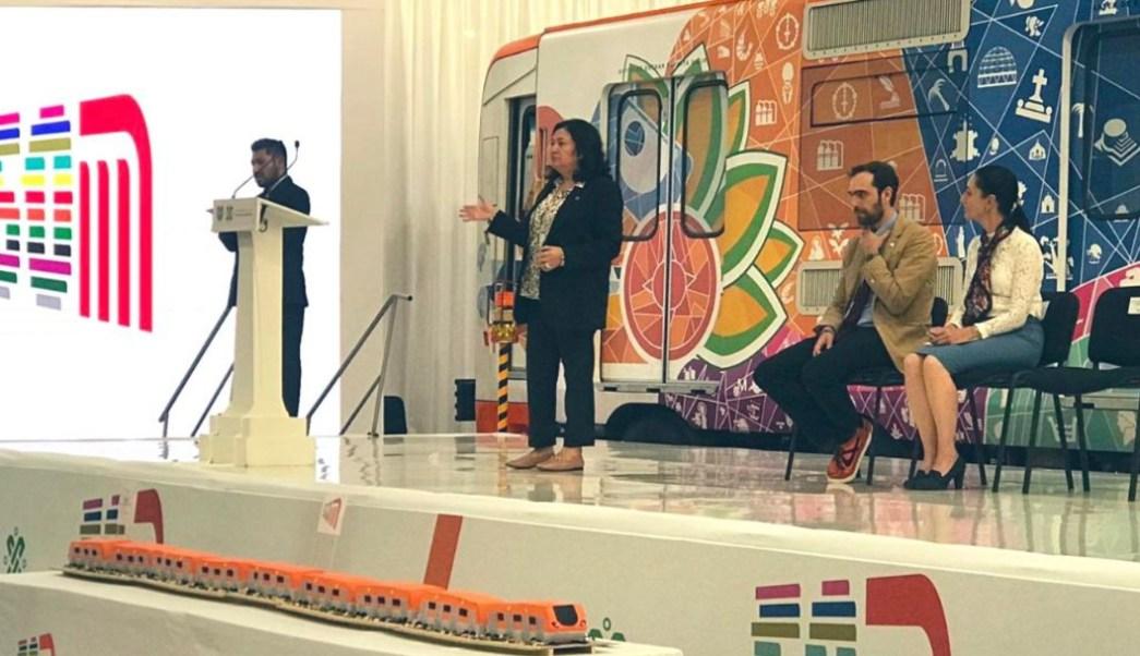 Foto: La directora del STC Metro, Florencia Serrania, presenta el Programa de Modernización 2019 - 2024., 4 septiembre 2019