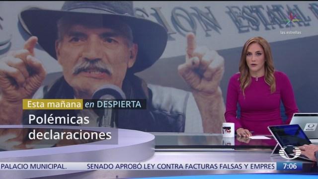 ¿Qué dijo Juan Manuel Mireles y por qué lo critican?