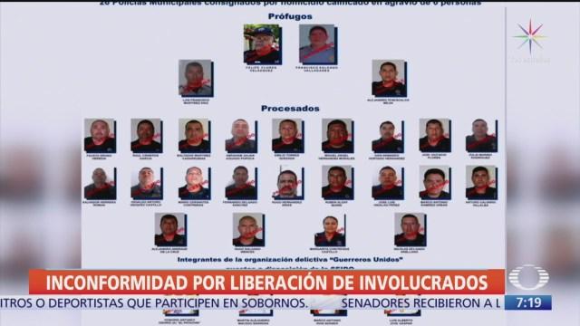 ¿Quiénes son los liberados del caso Ayotzinapa?