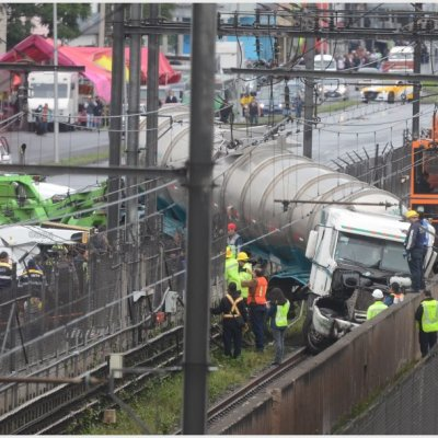 Tras accidente de camión, servicio del Metro Tepalcates se reanudaría el lunes