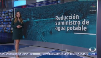Reducción de agua del Sistema Cutzamala