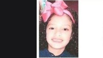 Foto: Regina Montiel Ruiz de 8 años desapareció en la alcaldía Gustavo A. Madero, el 25 de septiembre de 2019 (PGJCDMX)