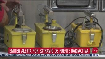 Reportan desaparición de fuente radiactiva en Michoacán