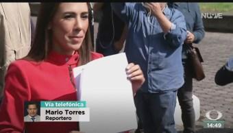FOTO: Rosario Robles Pide AMLO Debido Proceso