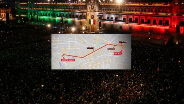 FOTO Esta es la ruta del desfile militar del 16 de septiembre en CDMX (Cuartoscuro/Noticieros Televisa)