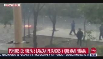 FOTO: Saldo Blanco Tras Disturbios Prepa 8 UNAM