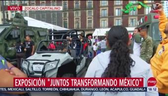 """FOTO: Se extiende la exposición """"Juntos Transformando México"""", 16 septiembre 2019"""