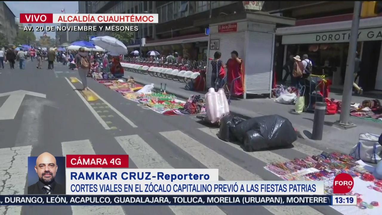 FOTO: Se intensifican cortes viales previo a las Fiestas Patrias, 15 Septiembre 2019