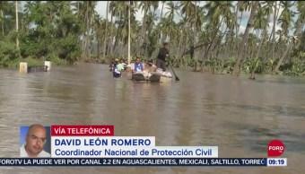 Se mantiene saldo blanco tras 'Lorena': Protección Civil