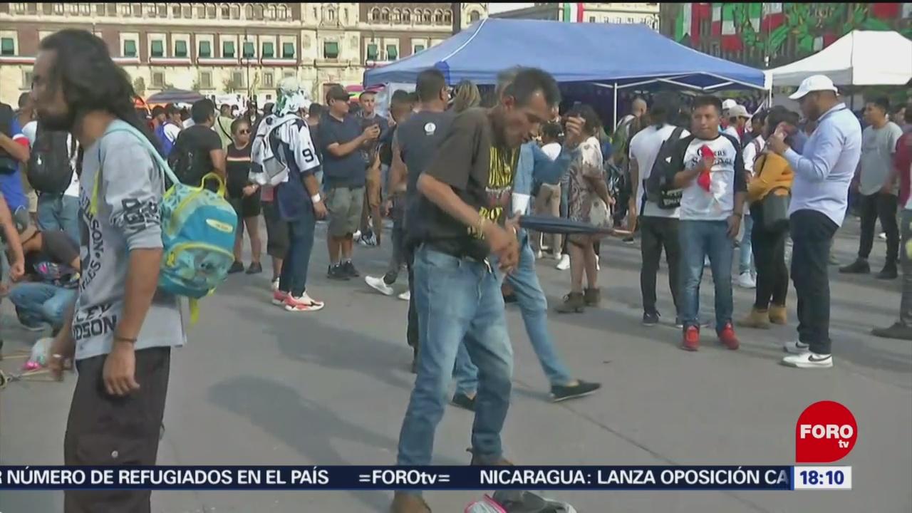 FOTO: Se realiza en el Zócalo festival musical para uso legal del cannabis, 8 septiembre 2019