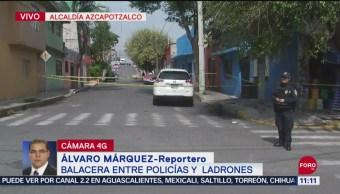 Se registra balacera en alcaldía Azcapotzalco, en CDMX