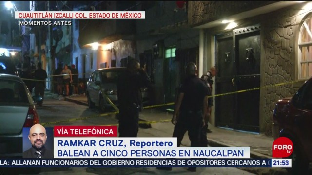 FOTO: Se registra balacera en Naucalpan, 8 septiembre 2019