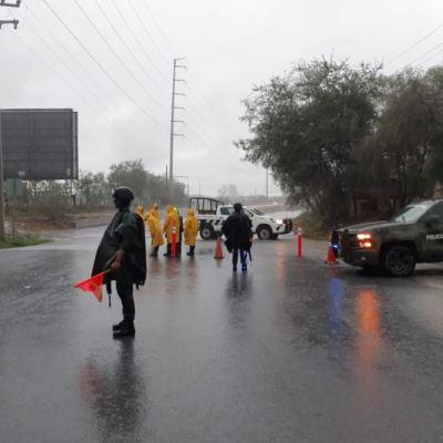 Ejército aplica Plan DN-III-E por lluvias en Nuevo León