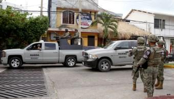 Foto: Elementos de la Marina y de la Guardia Nacional vigila zonas de Guerrero, 7 septiembre 2019
