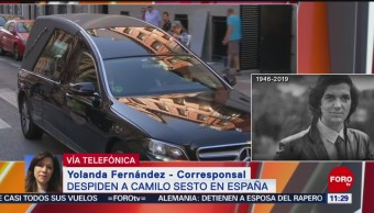 Seguidores dan último adiós a Camilo Sesto
