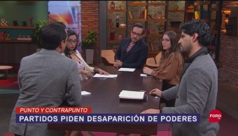FOTO: Senado Discute Desaparición Poderes Tres Entidade