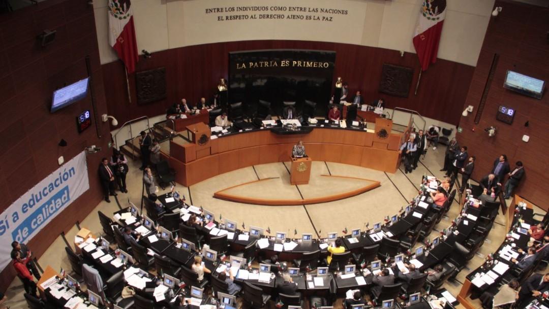 Foto: Aspecto Sesión Ordinaria del Senado de la República, el 25 de septiembre de 2019 (Andrea Murcia /Cuartoscuro.com)