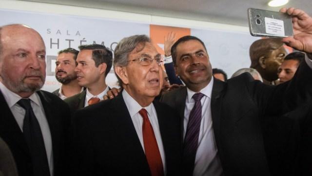 Foto: El ingeniero Cárdenas dijo que es necesario relanzar la industria petrolera como el actual gobierno lo hace con Pemex, 10 de septiembre de 2019 (Isaac Esquivel /Cuartoscuro.com)