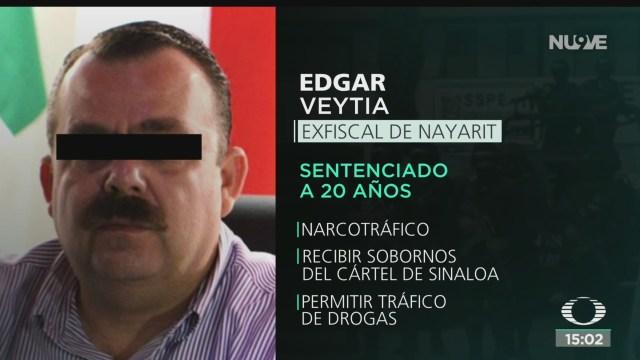 FOTO: Sentencian 20 Años Prisión Exfiscal Nayarit