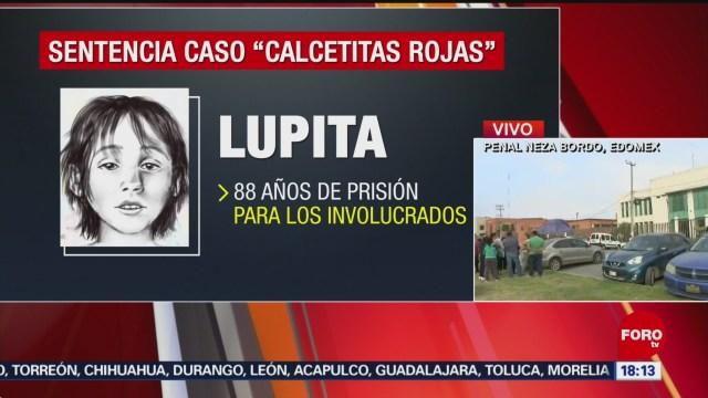 FOTO: Sentencian 88 Años Prisión Asesinos Calcetitas Rojas