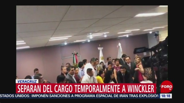 FOTO: Separan Cargo Temporalmente Fiscal Veracruz