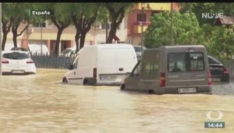 FOTO: Severos Daños Por Lluvias España,