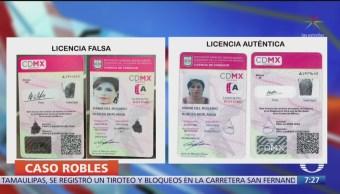 FOTO: Sheinbaum responde a presunta licencia de conducir falsa de Rosario Robles, 16 septiembre 2019
